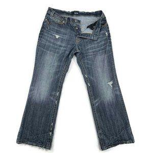 Mek Denim Jeans Mens 36x32 Blue Düsseldorf